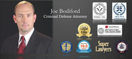 Joe Bodiford Criminal Defense Attorney