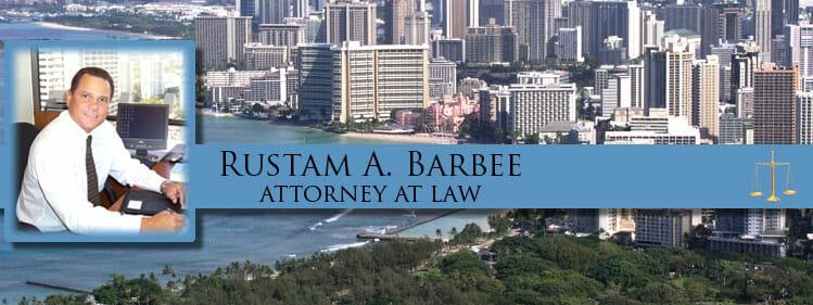 Rustam Barbee Hawaii DUI Attorney